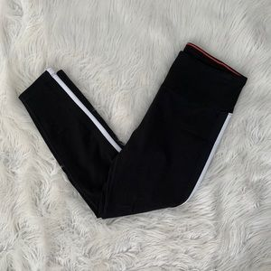 NWT! Calvin Klein Performance Stripe Leggings
